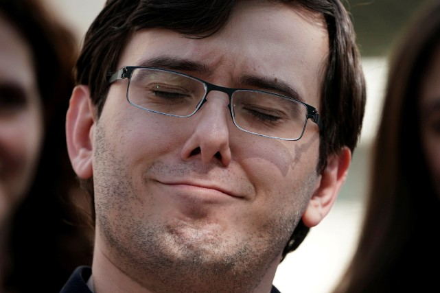 Martin Shkreli... (PHOTO Carlo Allegri, ARCHIVES REUTERS)