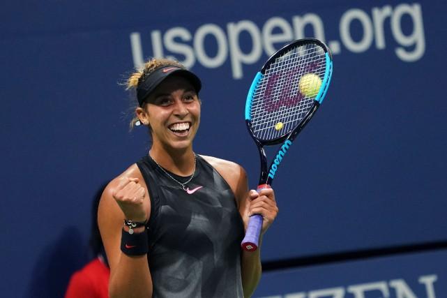 Madison Keys... (Don Emmert, AFP)