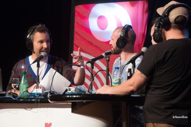 L'émission du retour à Rouge FM avec Éric... (Stéphane Lessard, Le Nouvelliste)