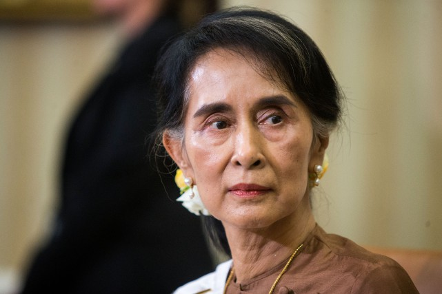 Aung Sang Suu Kyi... (PHOTO Al Drago, The New York Times)
