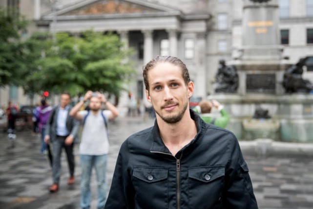 Alexis Turcotte-Noël, cofondateur de MTL420 Tours... (Photo Marco Campanozzi, La Presse)