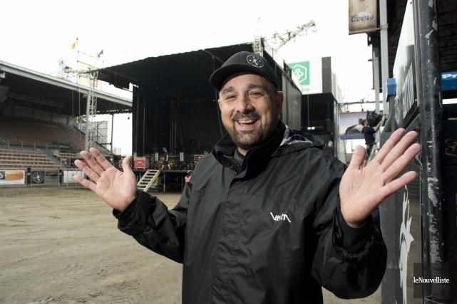 Pascal Lafrenière, directeur général du Festival western, assure... (Sylvain Mayer, Le Nouvelliste)