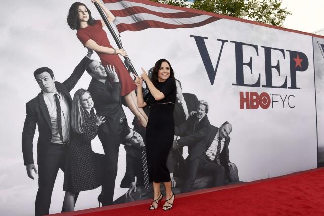 L'actrice vedette de la série Veep, Julia Louis-Dreyfus... (Photo archives AP/Invision)
