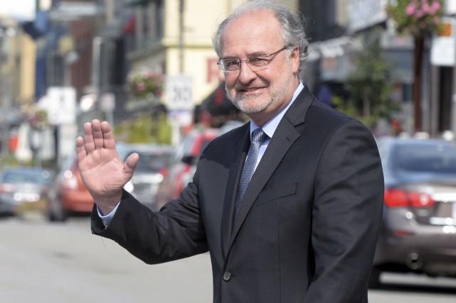 Paul Shoiry a annoncé qu'il quittait la politique... (Le Soleil, Jean-Marie Villeneuve)