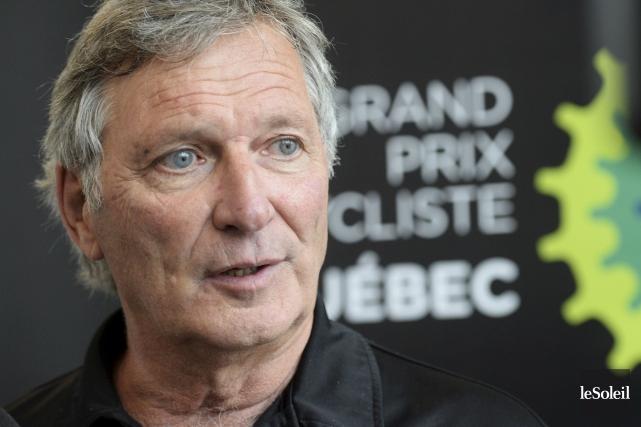 Serge Arsenault, à Québec, mardi... (Le Soleil, Jean-Marie Villeneuve)