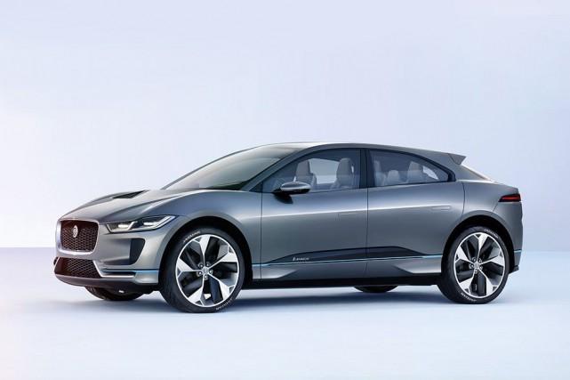 Le Jaguar I-Pace tout électrique.... (Photo : Jaguar)