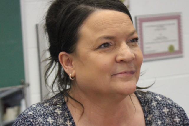 Chantale Potvin, enseignante à la Cité Roberval, est... (Archives Le Quotidien)