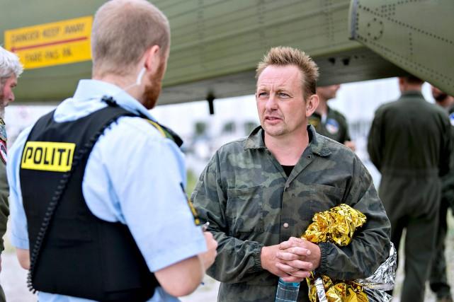 PeterMadsen nie toujours avoir tué la journaliste à... (PHOTO AFP)