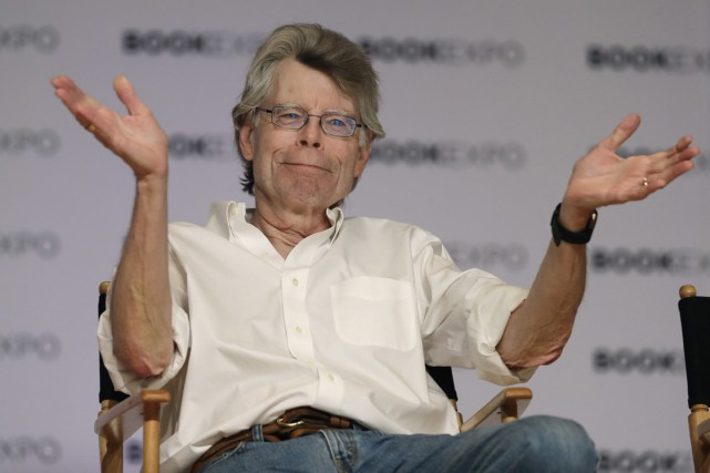 Stephen King... (PHOTO ARCHIVES AP)