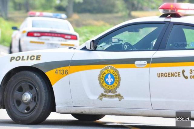 Les agents ont retrouvé le conducteur de 51... (Photothèque Le Soleil)
