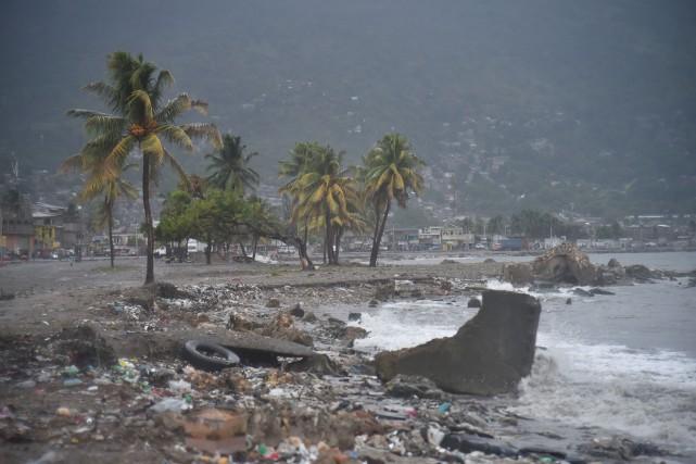 Selon les dernières prévisions, tout indique qu'Haïti ne... (Photo Hector Retamal, AFP)