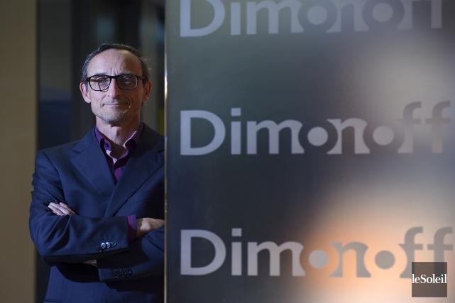 L'équipe de l'ingénieur Bernard Têtu, président de l'entreprise... (Photo Le Soleil, Yan Doublet)