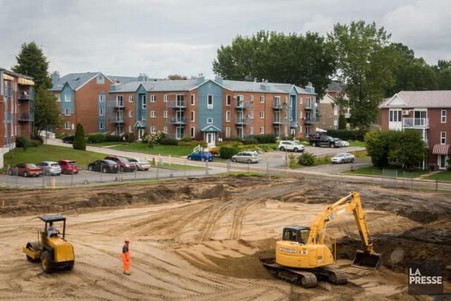Un important projet d'habitation qui accueillera près de... (François Gervais)