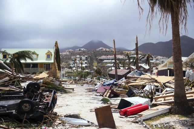 Alors que l'ouragan Irma se rapproche de plus en plus de la Floride,... (PHOTO AFP)