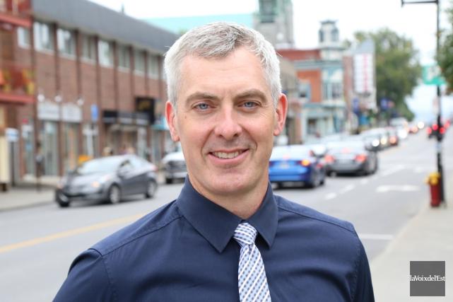 Patrick Girard souhaite se faire élire comme conseiller... (Janick Marois, La Voix de l'Est)