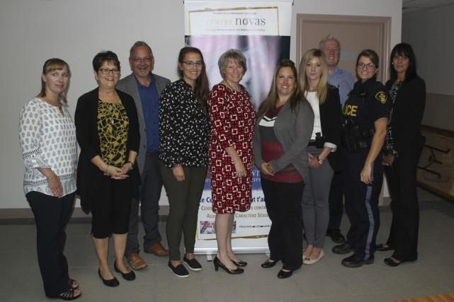 Sur la photo, les membres du comité organisateur... (Martin Brunette, Le Droit)
