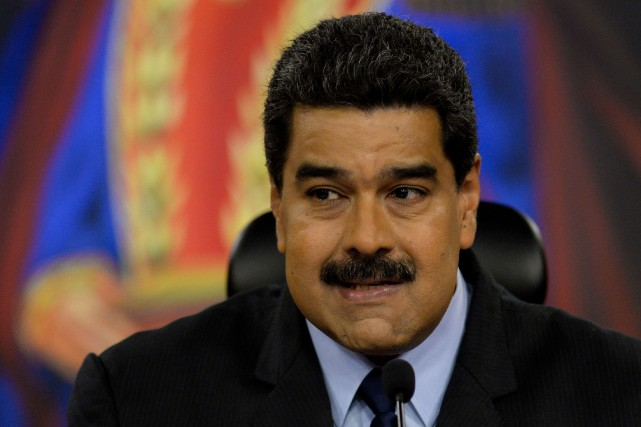 Le président vénézuélien Nicolas Maduro... (PHOTO ARCHIVES AFP)