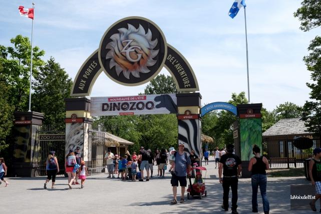 Le jardin zoologique a accueilli 727000 visiteurs entre... (Alain Dion, La Voix de l'Est)