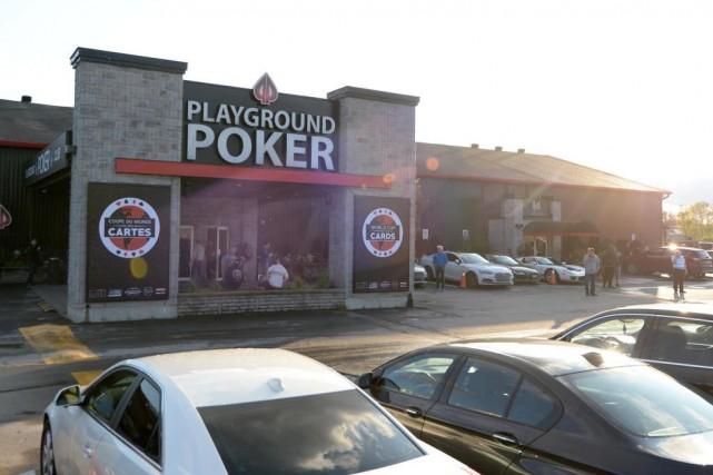Le Playground PokerClub de Kahnawake estconsidéré comme un... (Photo Bernard Brault, La Presse)
