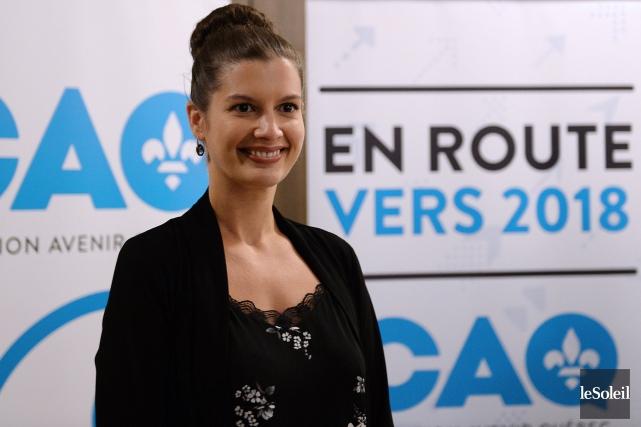 Geneviève Guilbault, qui était déjà confirmée comme candidate... (Photothèque Le Soleil, Erick Labbé)