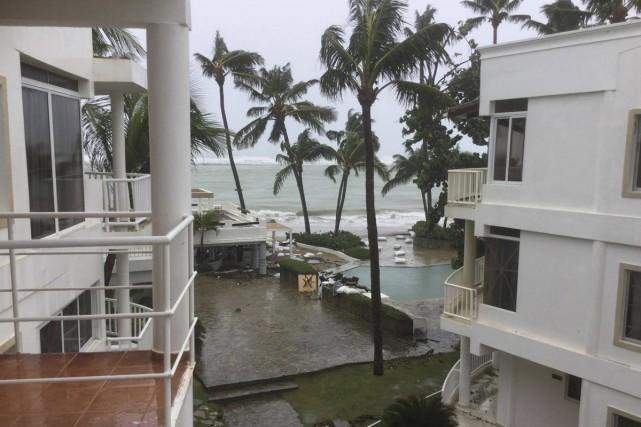 Les dégâts causés par l'ouragan Irma auront été... (fournie)