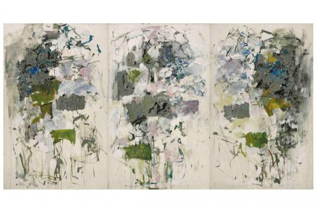 Joan Mitchell, Girolata, 1964. Huile sur toile, 258,4... (HMSG, Smithsonian Institution, Washington, DC, Cathy Carver)