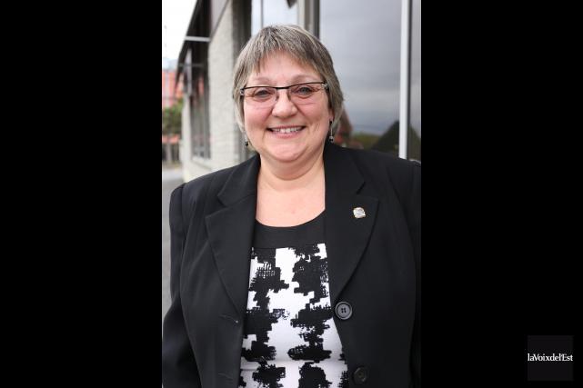 La candidate à la mairie de Cowansville, Sylvie... (Christophe Boisseau-Dion archives La Voix de l'Est)