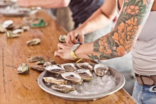 L'Oysterfest Montréal a lieu demain àlagareViger.... (Photo Riccardo Cellere, fournie par Oysterfest)