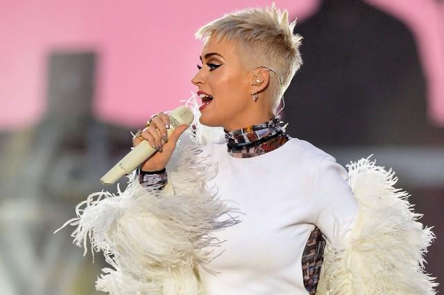 Katy Perry... (AFP, Dave Hogan)