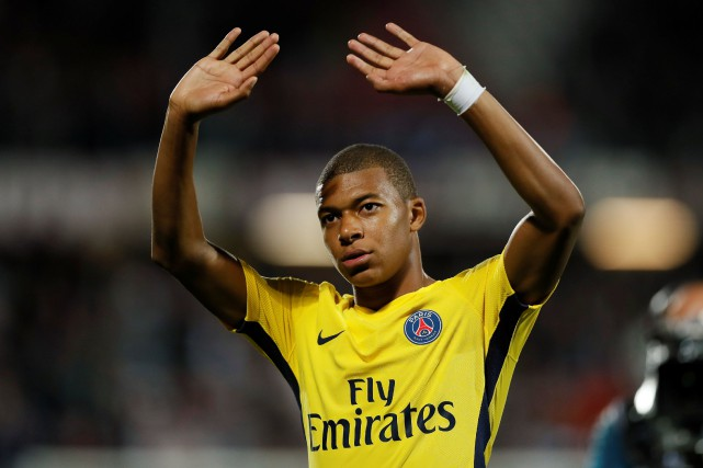 Kylian Mbappé... (Photo Reuters)