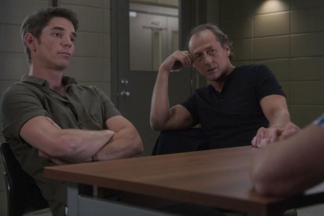 Le nouvel enquêteur joué par Luc Picard, Geoffroy... (Fournie par ICI Radio-Canada Télé)