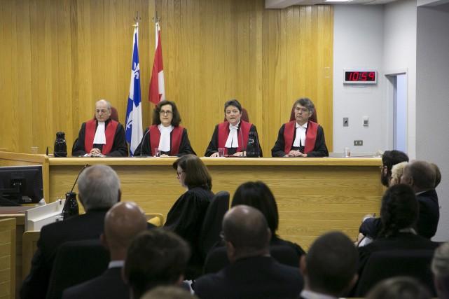 La cérémonie d'ouverture des tribunaux était présidée par... (Spectre Média, René Marquis)