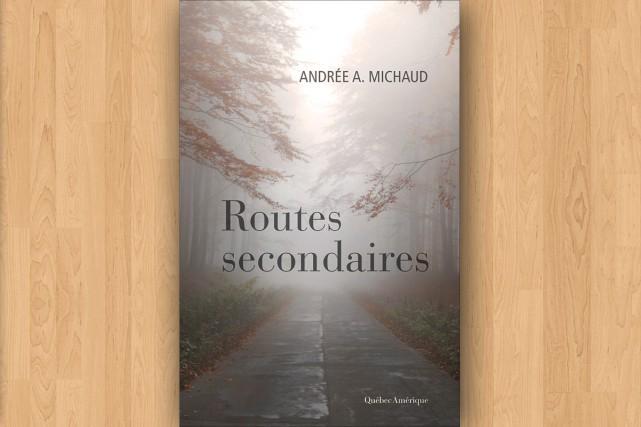 Quand Andrée A. Michaud décroche le combiné, à l'heure convenue pour...
