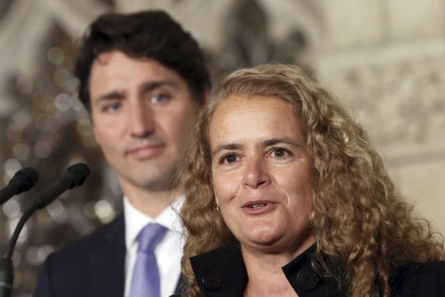 Julie Payette aurait-elle été nommée gouverneure générale du... (Archives La Presse canadienne, Fred Chartrand)