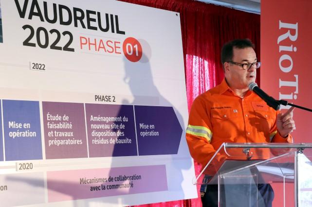 Le directeur du Complexe Jonquière, Jean-François Nadeau, a... (Le Progrès, Yohann Gasse)