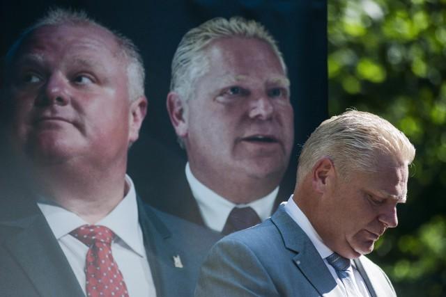 Doug Ford.... (PHOTO ARCHIVES LA PRESSE CANADIENNE)
