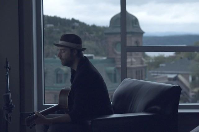 Antoine Mainville, auteur-compositeur interprète, lauréat du Prix La... (Courtoisie Télé-Québec, Saguenay-Lac-Saint-Jean)