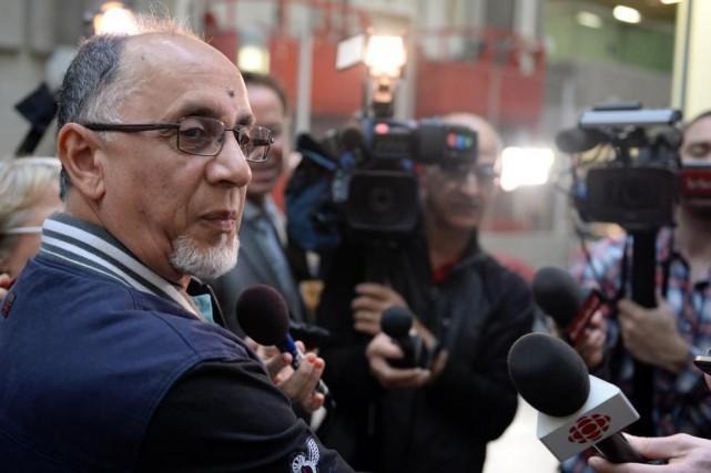 Le vice-président du Centre culturel islamique de Québec,... (PHOTO ERICK LABBÉ, LE SOLEIL)