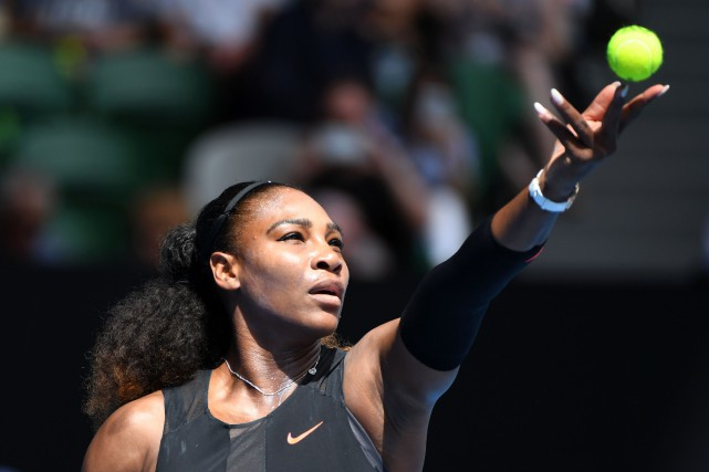 Serena Williams... (PHOTO WILLIAM WEST, ARCHIVES AFP)