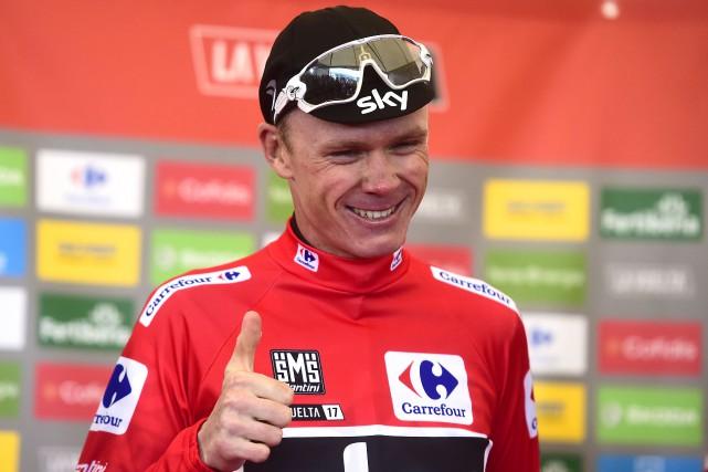 Quatre fois vainqueur du Tour de France, Froome... (PHOTO JOSE JORDAN, AFP)