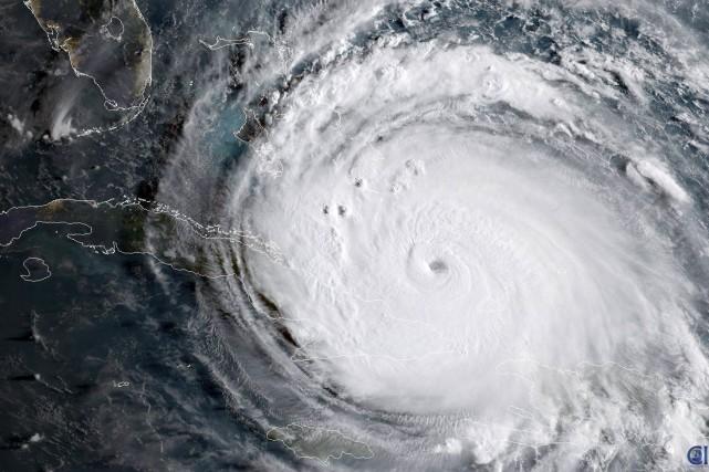 L'ouragan Irmaa pris des proportions sans précédent et... (NASA via AFP)
