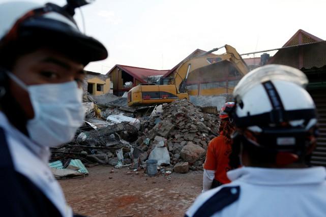 Les autorités, qui ont décrété trois jours de... (PHOTO Carlos Jasso, REUTERS)