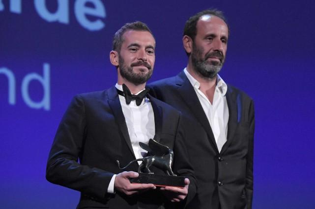 Le réalisateur Xavier Legrand... (PHOTO Tiziana FABI, AFP)