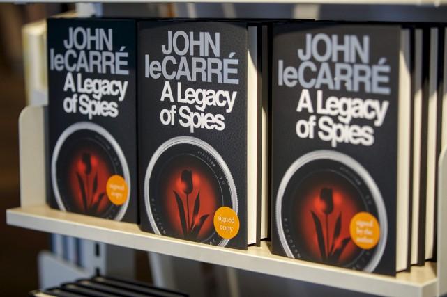 Dans son nouveau roman, John Le Carré a... (AFP, Tolga Akmen)