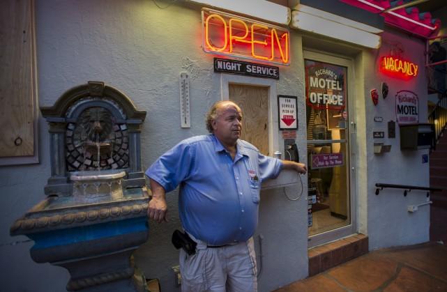 Le Québécois Richard Clavet, le propriétaire des Richard's... (La Presse canadienne, Paul Chiasson)