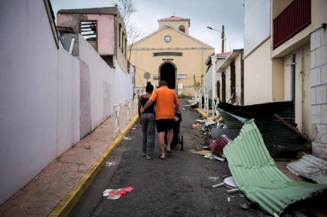 Dans les régions frappées par la catastrophe, comme... (Photo Martin Bureau, Agence France-Presse)