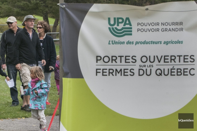 Pour une 15eannée, l'Union des producteurs agricoles tient dimanche son... (Photo Michel Tremblay, archives Le Quotidien)