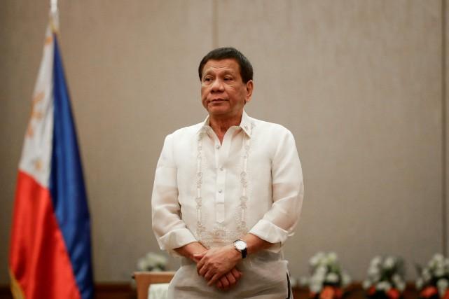 Rodrigo Duterte... (PHOTO Mark Cristino, REUTERS)