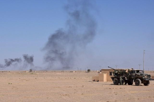 La province de Deir Ezzor est la dernière... (PHOTO AFP)
