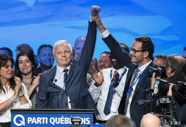 Le chef du Parti québécois a remporté le... (La Presse canadienne/Graham Hughes)
